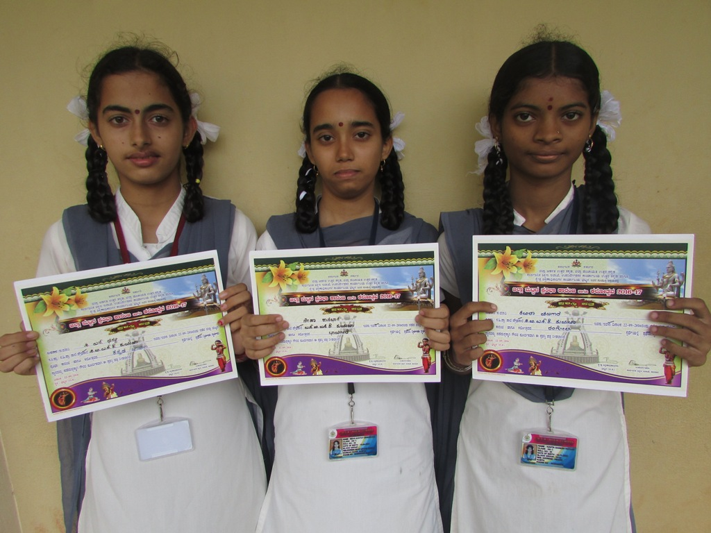 Pratribha Karanji District Level Winners