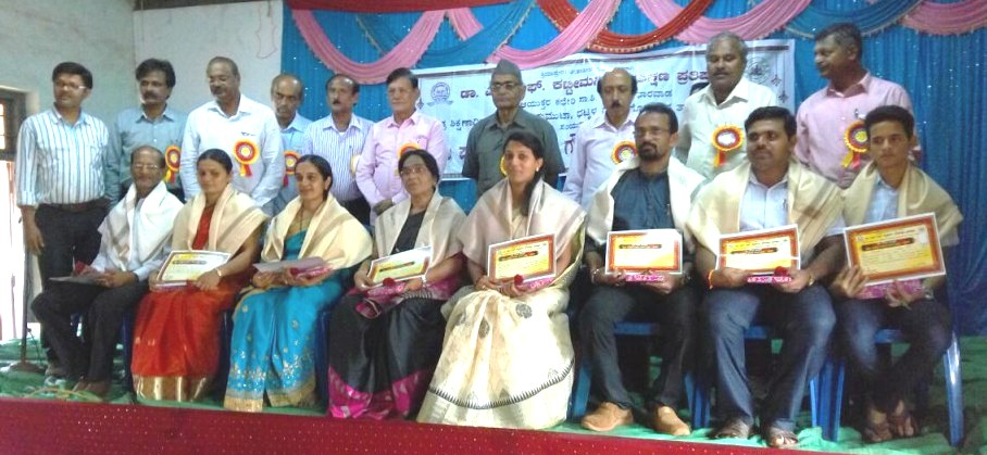 CVSK teachers being felicitated