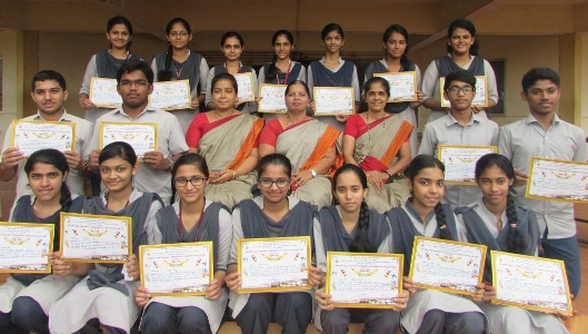 Winners of Sanskrit competition